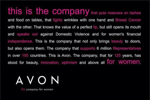 avon is the company that